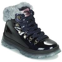 Čevlji  Deklice Polškornji Pablosky 404429 Modra