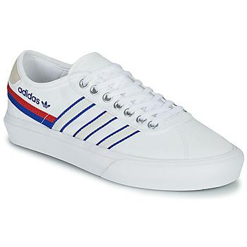 Čevlji  Nizke superge adidas Originals DELPALA Bela / Modra