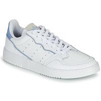 Čevlji  Nizke superge adidas Originals SUPERCOURT Bela / Modra