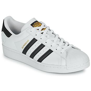 Čevlji  Nizke superge adidas Originals SUPERSTAR VEGAN Bela / Črna