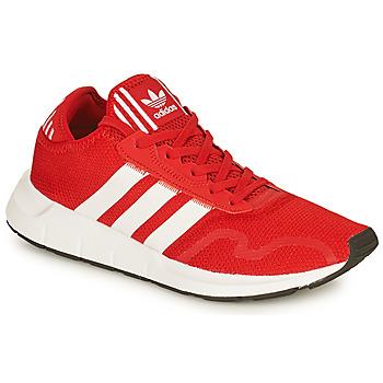 Čevlji  Moški Nizke superge adidas Originals SWIFT RUN X Rdeča / Bela
