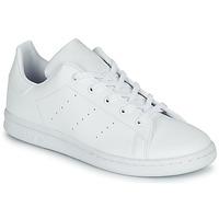 Čevlji  Otroci Nizke superge adidas Originals STAN SMITH C Bela