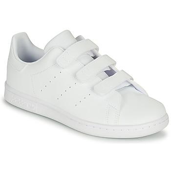 Čevlji  Otroci Nizke superge adidas Originals STAN SMITH CF C Bela
