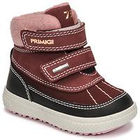 Čevlji  Deklice Škornji za sneg Primigi BARTH 19 GTX Bordo