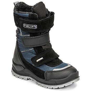 Čevlji  Dečki Škornji za sneg Primigi HANS GTX Črna / Modra
