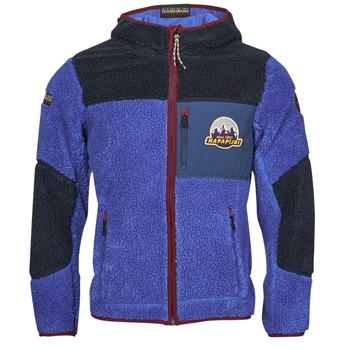 Oblačila Moški Flis Napapijri YUPIK Modra