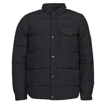 Oblačila Moški Puhovke Scotch & Soda WATER-REPELLENT SHIRT Črna