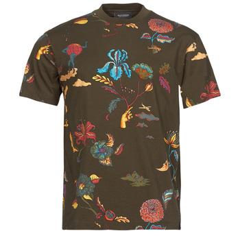 Oblačila Moški Majice s kratkimi rokavi Scotch & Soda PRINTED RELAXED FIT Kostanjeva
