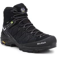 Čevlji  Moški Pohodništvo Salewa MS Alp Trainer 2 Mid GTX 61382-0971 black