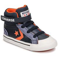 Čevlji  Otroci Visoke superge Converse PRO BLAZE STRAP LEATHER TWIST HI Modra