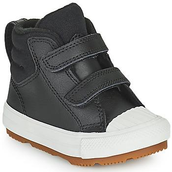 Čevlji  Otroci Visoke superge Converse CHUCK TAYLOR ALL STAR BERKSHIRE BOOT SEASONAL LEATHER HI Črna