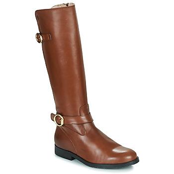 Čevlji  Deklice Mestni škornji    Acebo's 9904-CUERO-T Kostanjeva