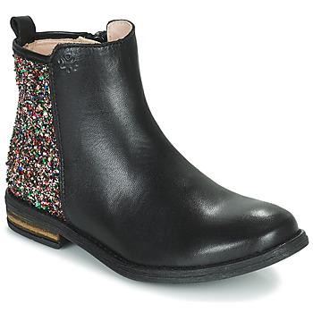 Čevlji  Deklice Polškornji Acebo's 9917VE-NEGRO-T Črna