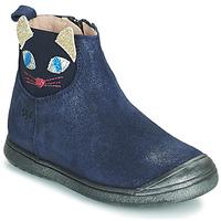 Čevlji  Deklice Polškornji Acebo's 3159SU-MARINO Modra