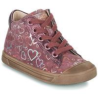 Čevlji  Deklice Visoke superge Acebo's 5533EL-GRANADA Rožnata