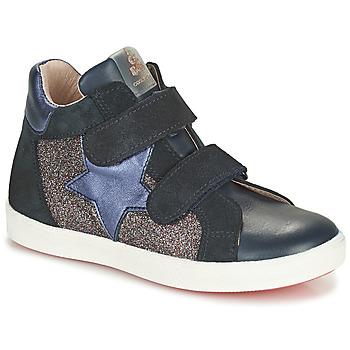 Čevlji  Deklice Visoke superge Acebo's 5541SX-MARINO Modra