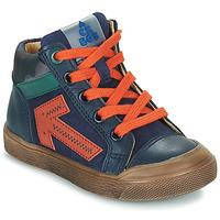 Čevlji  Dečki Visoke superge Acebo's 5567-MARINO-J Modra