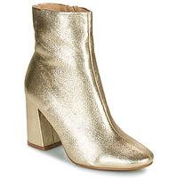 Čevlji  Ženske Gležnjarji Moony Mood PEDROLYN Zlata