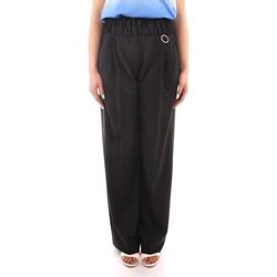 Oblačila Ženske Lahkotne hlače & Harem hlače Marella PANTS BLACK