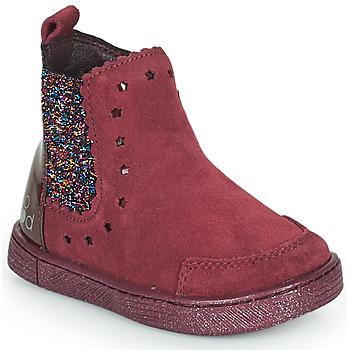 Čevlji  Deklice Polškornji Mod'8 BLANOU Bordo