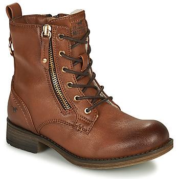 Čevlji  Deklice Polškornji Mustang 5026-623-308 Kostanjeva