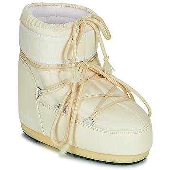 Čevlji  Ženske Škornji za sneg Moon Boot MOON BOOT ICON LOW 2 Krem