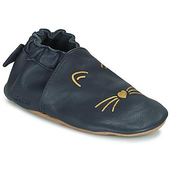 Čevlji  Deklice Nogavice za dojenčke Robeez GOLDY CAT Modra