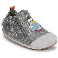 Čevlji  Dečki Nogavice za dojenčke Robeez BLUE PINGUINS Siva