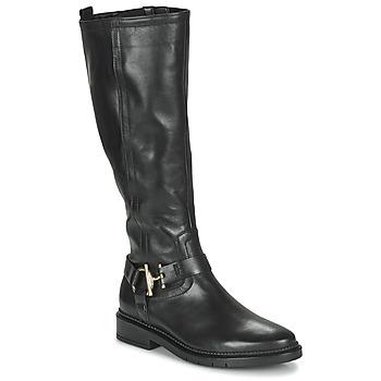 Čevlji  Ženske Mestni škornji    Gabor 7274767 Črna