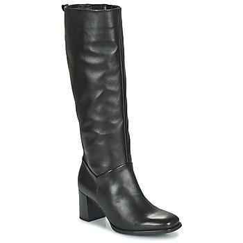 Čevlji  Ženske Mestni škornji    Gabor 7562927 Črna