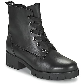 Čevlji  Ženske Gležnjarji Gabor 7171127 Črna