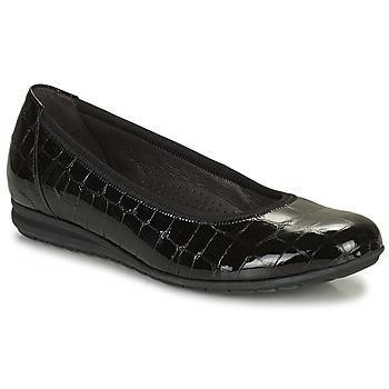 Čevlji  Ženske Balerinke Gabor 7262087 Črna