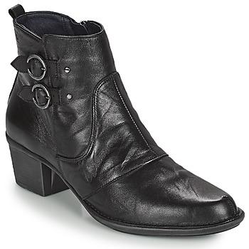 Čevlji  Ženske Gležnjarji Dorking DALMA Črna