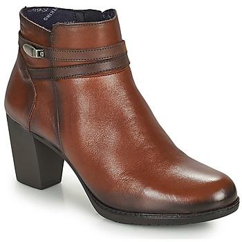 Čevlji  Ženske Gležnjarji Dorking EVELYN Kostanjeva