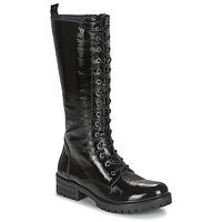 Čevlji  Ženske Mestni škornji    Dorking WALKING Črna