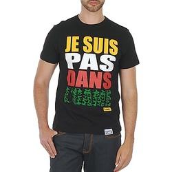 Oblačila Moški Majice s kratkimi rokavi Wati B TEE Črna