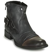 Čevlji  Moški Polškornji Kdopa DETROIT Črna