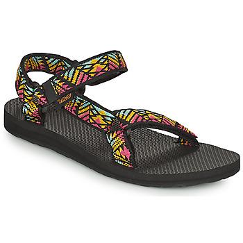 Čevlji  Ženske Sandali & Odprti čevlji Teva ORIGINAL UNIVERSAL Črna / Večbarvna