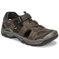 Čevlji  Moški Sandali & Odprti čevlji Teva M OMNIUM 2 LEATHER Kostanjeva