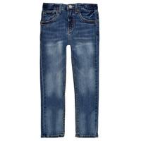 Oblačila Dečki Jeans skinny Levi's 510 SKINNY FIT EVERYDAY PERFORMANCE JEANS Modra