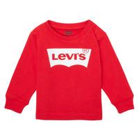 Oblačila Dečki Majice z dolgimi rokavi Levi's L/S BATWING TEE Rdeča