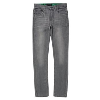 Oblačila Dečki Jeans skinny Levi's 510 SKINNY FIT ECO PERFORMANCE JEANS Modra