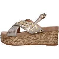 Čevlji  Ženske Sandali & Odprti čevlji Alma Blue V21BL6506 BRONZE