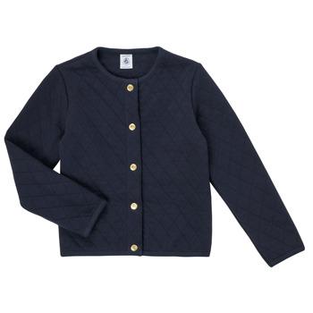 Oblačila Deklice Telovniki & Jope Petit Bateau COLYNNE Modra