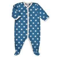 Oblačila Dečki Pižame & Spalne srajce Petit Bateau SOLARIE Modra / Bela