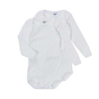 Oblačila Otroci Pižame & Spalne srajce Petit Bateau TESSA Bela