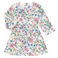 Oblačila Deklice Kratke obleke Petit Bateau ROPPAL Večbarvna
