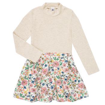 Oblačila Deklice Kratke obleke Petit Bateau WESSRI Večbarvna