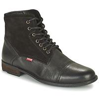 Čevlji  Moški Polškornji Levi's FOWLER 2.0 Črna