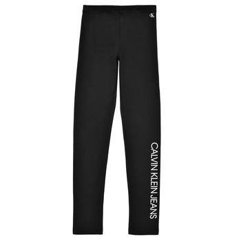 Oblačila Deklice Pajkice Calvin Klein Jeans MERCA Črna